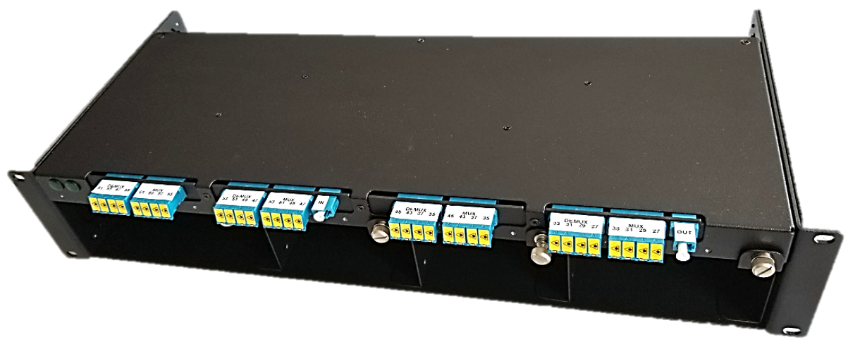 CWDM Fiber Optical Multiplexer frame