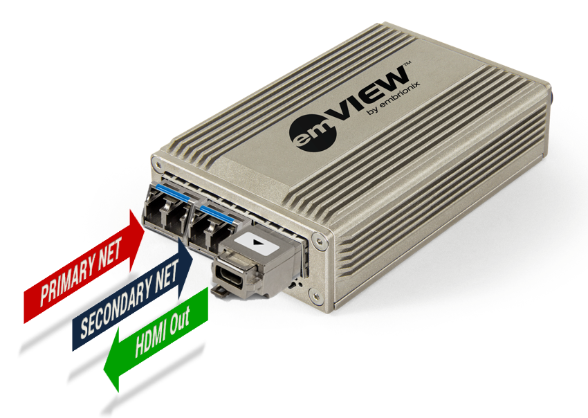 emVIEW-7-DMI - Standalone IP Gateway (HDMI out)